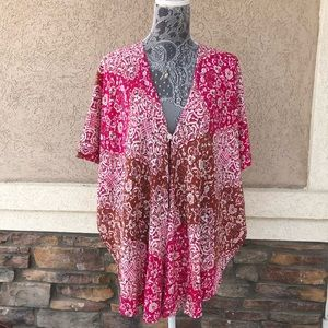 Show Me Your MuMu Boho Print Coverup